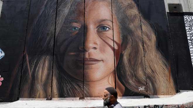 Liberada la icónica adolescente palestina Tamimi