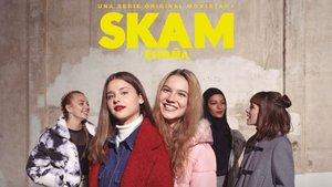 Algunos de los personajes de la tercera temporada de 'Skam España'.