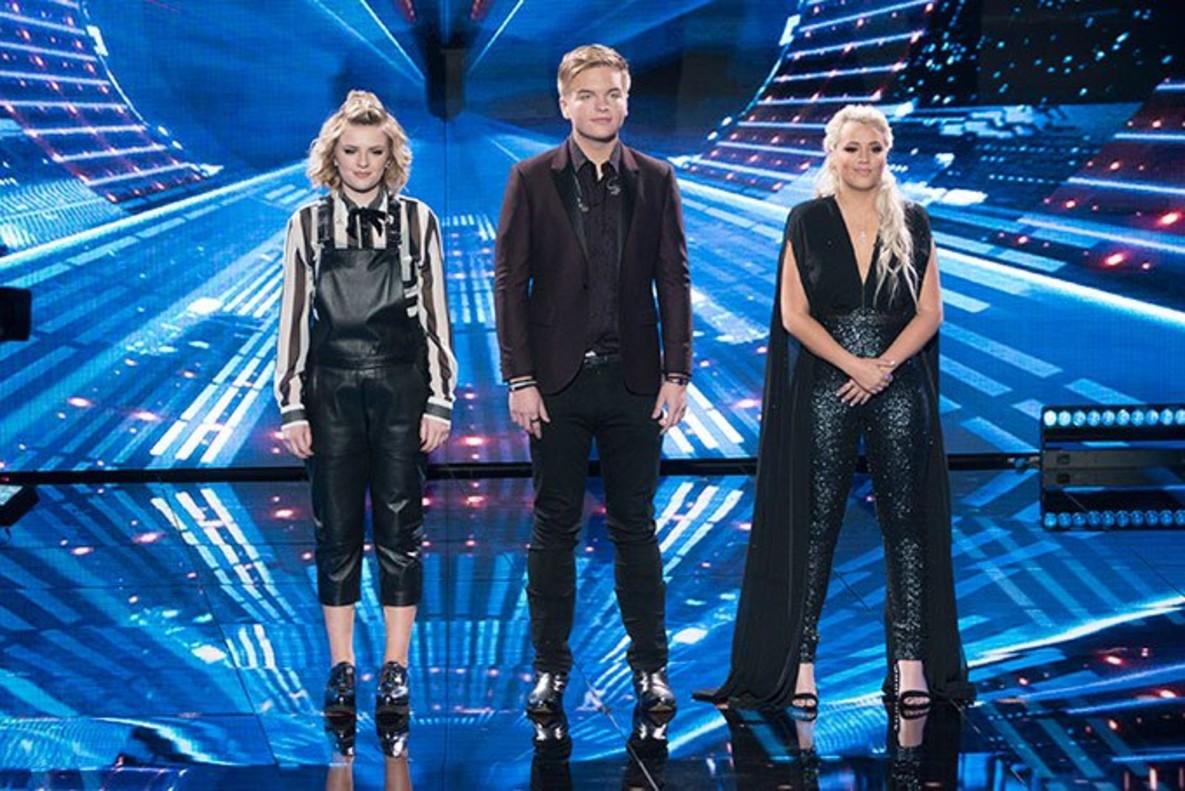 Una imagen de los concursantes del American idol estadounidense.