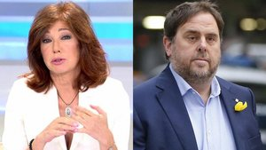 Ana Rosa Quintana se desplaza hasta la cárcel para entrevistar a Oriol Junqueras