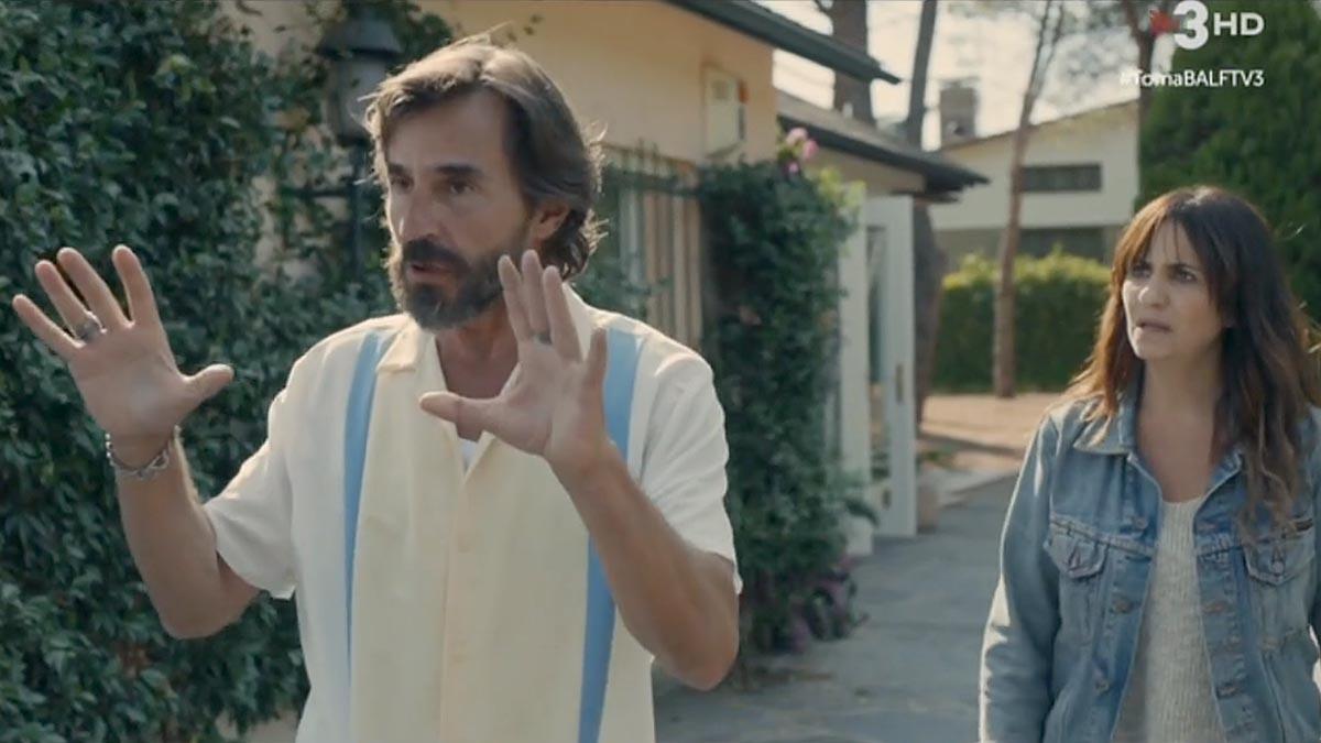 Santi Millán, en Benvinguts a la família (TV-3).