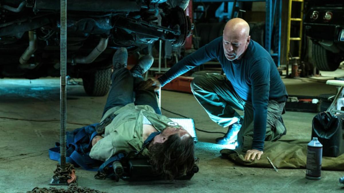 Bruce Willis, en un fotograma de El justiciero