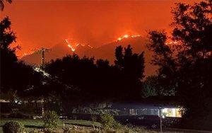 Incendios forestales en California, Estados Unidos.