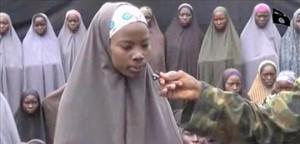 Captura del último vídeo en el que aparecen las niñas secuestradas por Boko Haram.
