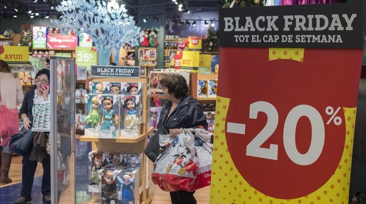 3541b7d19 El Black Friday se convierte en uno de los días de más ventas del año