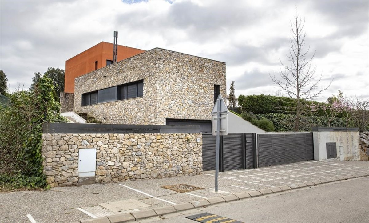 La casa alquilada porAitor Zárate en Cervià de Ter (Girona).