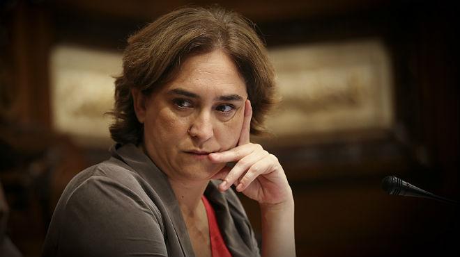 L'alcaldessa de Barcelona, Ada Colau, anuncia que no assistirà a la manifestació de l'11-S a la Meridiana.