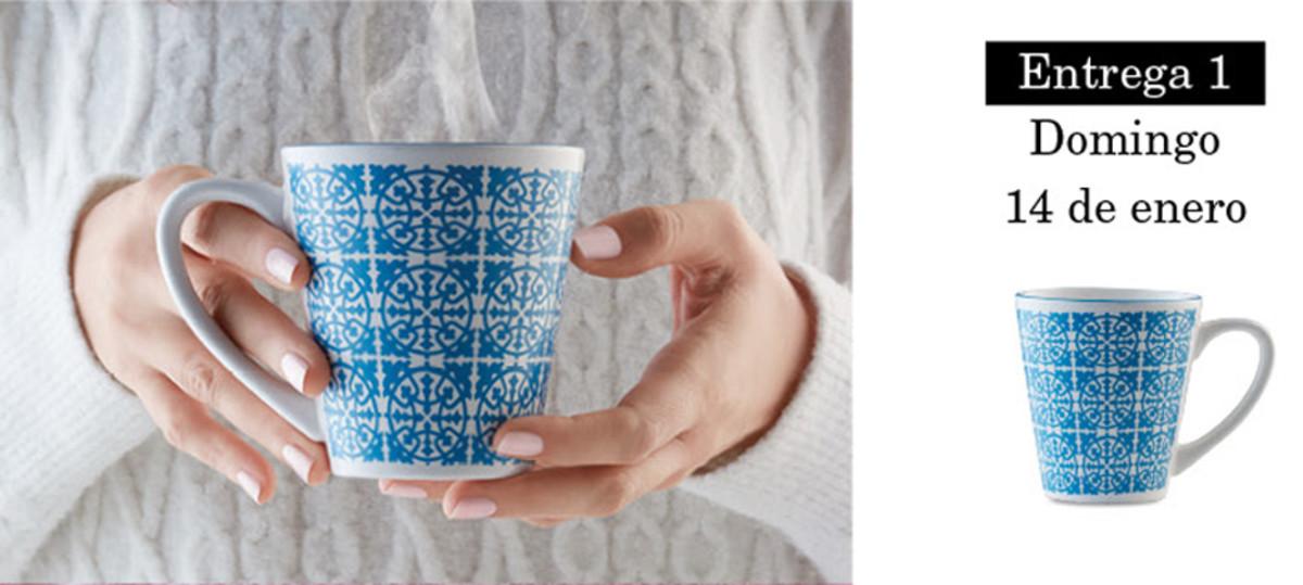 Colección de tazas modernistas de Pilma. Entrega 1