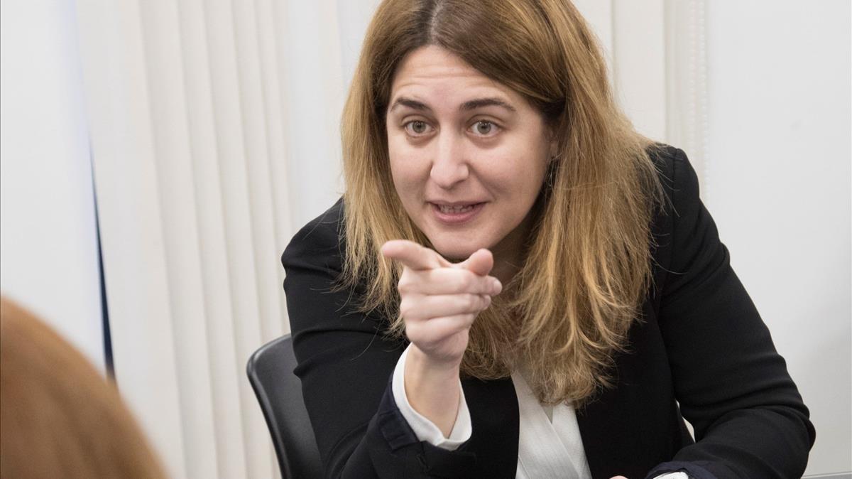 La coordinadora general del PDECat, Marta Pascal, en una imagen del pasado enero.