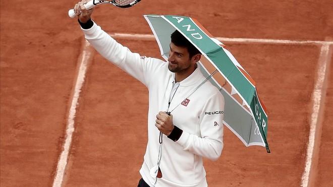 Roland Garros suspende los partidos por segundo día consecutivo debido a la lluvia