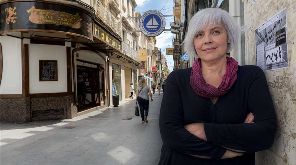 Dolors Sabater, alcaldesa de Badalona.