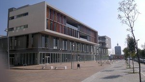 Edificio del sector del Rengle de Mataró.