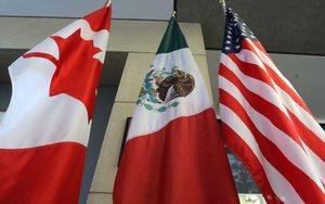 Tratado comercial entre los EEUU, México y Canadá.