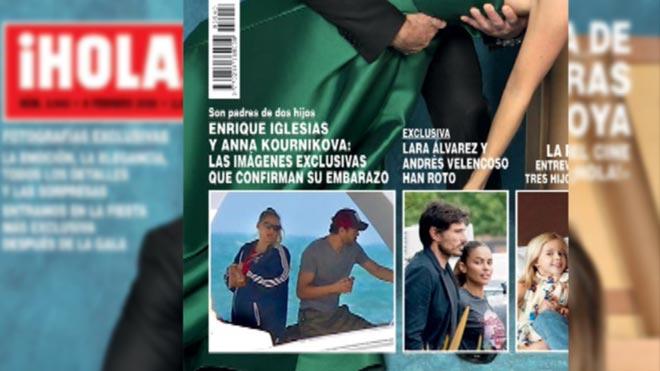 Enrique Iglesias y Anna Kournikova esperan su tercer hijo.