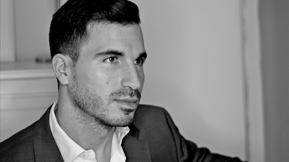 El escritor Javier Castillo.