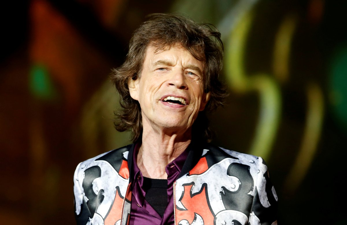 FILE PHOTO: Mick Jagger of the Rolling Stones performs during a concert of their No Filter European tour at the Orange Velodrome stadium in Marseille, France, June 26, 2018. REUTERS/Jean-Paul Pelissier/File Photo