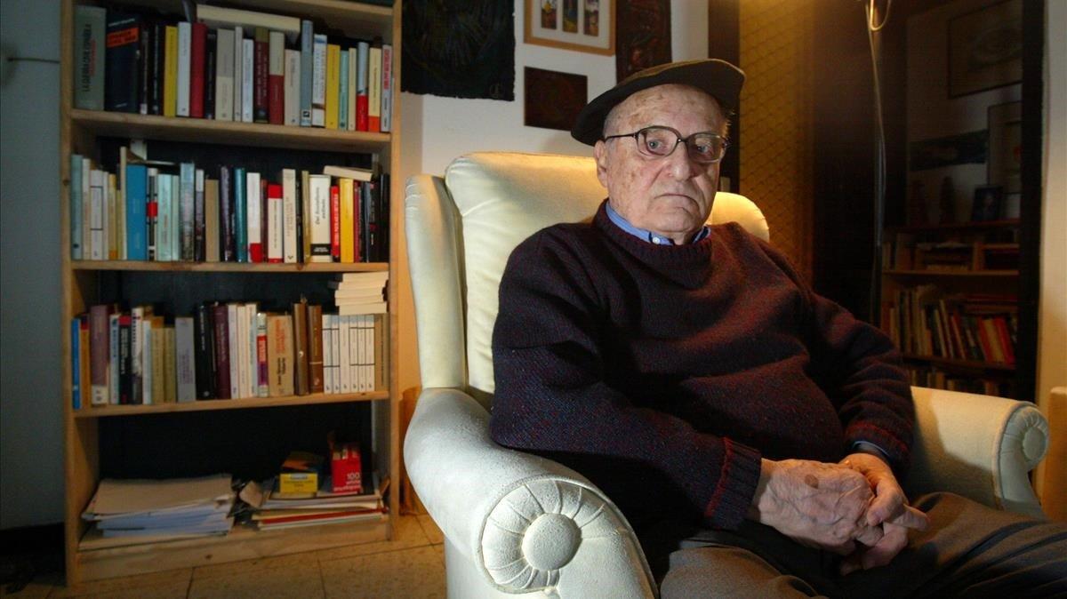 Gabriel Jackson, historiador hispanista, en el 2005.