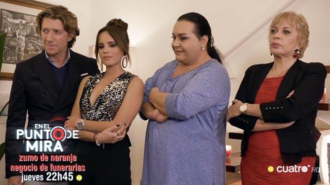 Gloria Camila, Colate, Falete y Bárbara.