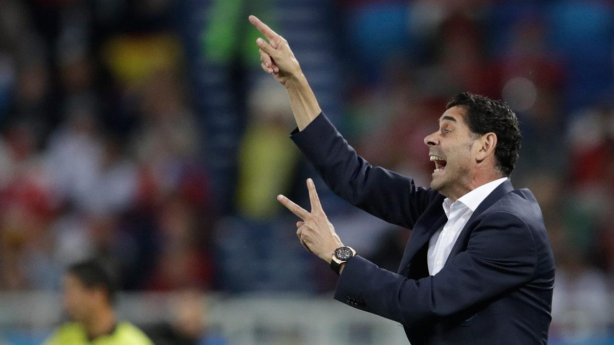 Hierro, tras el empate ante Marruecos: Encajar cinco goles en tres partidos no es el camino.