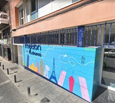 Hostal madrileño donde supuestamente un senegalés violó a una turista mexicana.