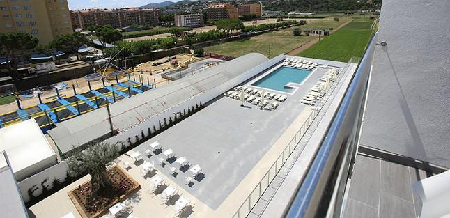 Imagen de archivo de las instalaciones del hotel.