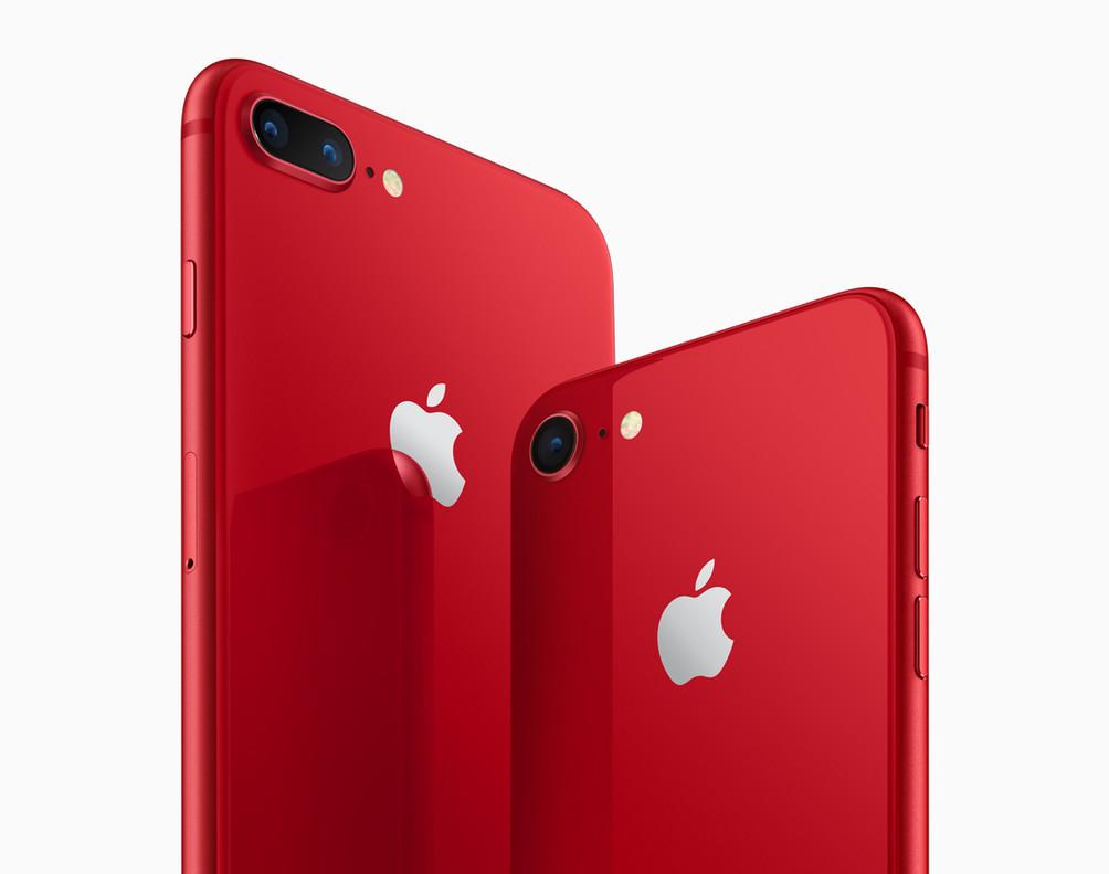 Nueva edición del iPhone en rojo