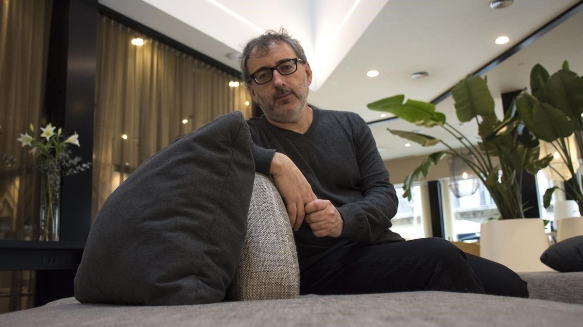 Joan Benesiu, este martes, en Barcelona.