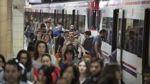 El nombre d'afectats per una incidència a Rodalies pujarà el 4% aquest 2018