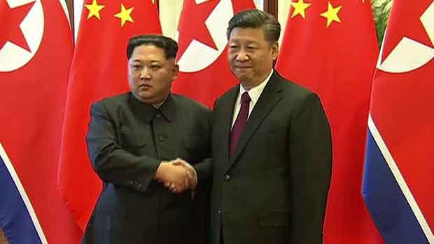 China y Corea del Norte confirmaron que el máximo líder norcoreano, Kim Jong-un, visitó Pekín y se reunió con el presidente chino Xi Jinping.