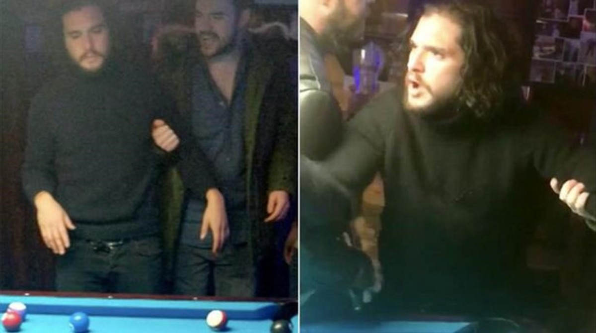 Kit Harington, expulsado borracho de un bar neoyorquino.