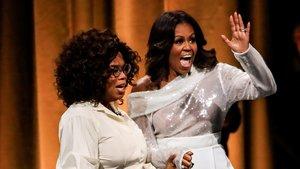 Michelle emprèn una gira d'estrella de rock