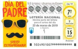 Lotería Nacional: Sorteo del Día del Padre 2019
