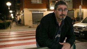 Luís Macario, último carpintero del metro de Barcelona.