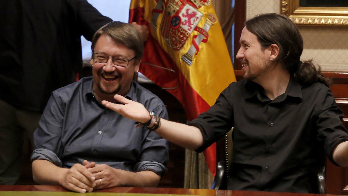 Pablo Iglesias ha bromeado con el registro del maletero del taxi de Domènech, considerándolo más propio de Mortadelo y Filemón.