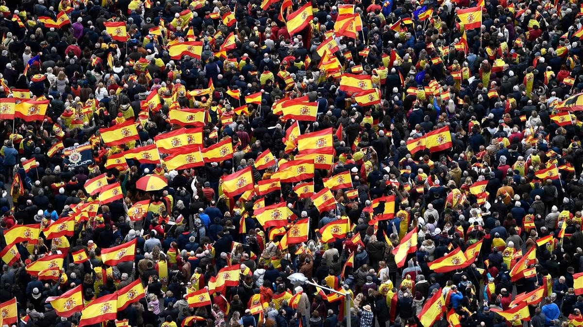 Cs y PPC desconvocan la manifestación contra Sánchez de este domingo en Barcelona