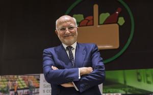 El presidente de Mercadona, Juan Roig, en el 2018 en Puçol.