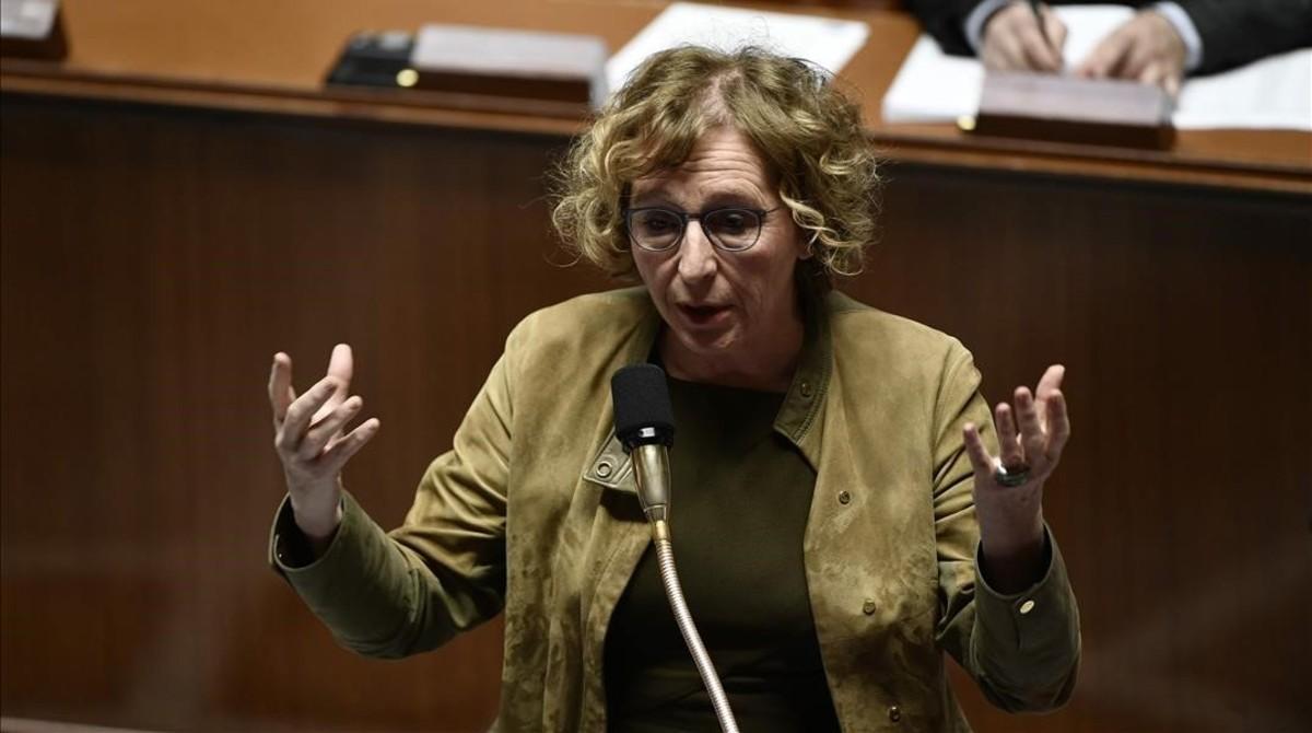 La ministra francesa de Trabajo, Muriel Pénicaud.