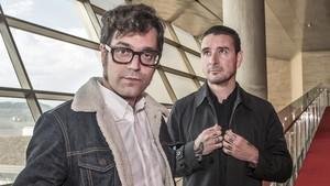 Miqui Otero y Kiko Amat, creadores del festival Primera Persona.