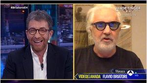 Motos entrevistó a Flavio Briatore (A-3 TV).