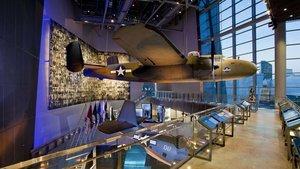 Imagen del Museo Nacional de la segunda guerra mundial en Nueva Orlenas.