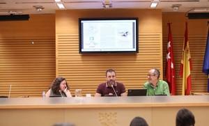 Nacho Murgui (centro), delegado de Coordinación Territorial y Cooperación Público-Social, en un acto en el ayuntamiento.