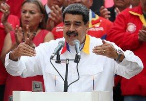 Maduro señaló que 'La Vinotinto' jugó a nivel y le dio una lección a Brasil.