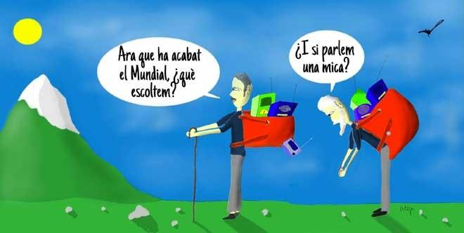 L'humor gràfic de Juan Carlos Ortega del 16 de Juliol del 2018