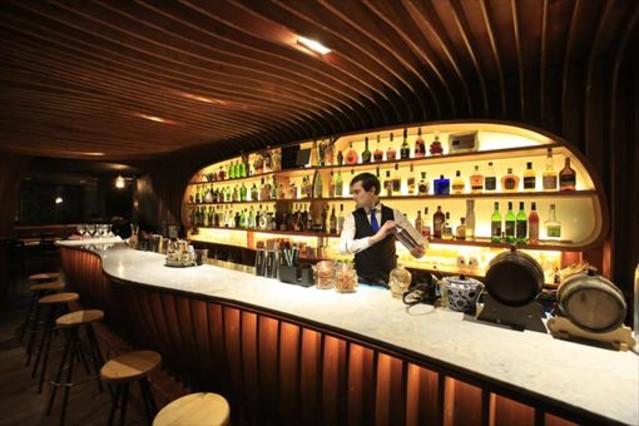 Paradiso, coctelería secreta de Pastrami Bar, que esconde otra sala, Macallan.