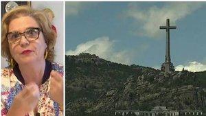 Pilar Rahola plantea celebrar el Orgullo LGTB en el Valle de los Caídos tras la exhumación de Franco