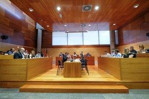Pleno municipal de Gavà del pasado miércoles
