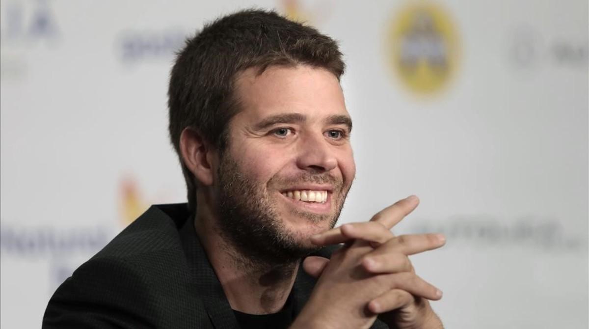 Pablo Tébar,ganador del Premio Minotauro 2017.