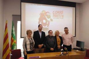 Presentación de la cursa CorreParets.