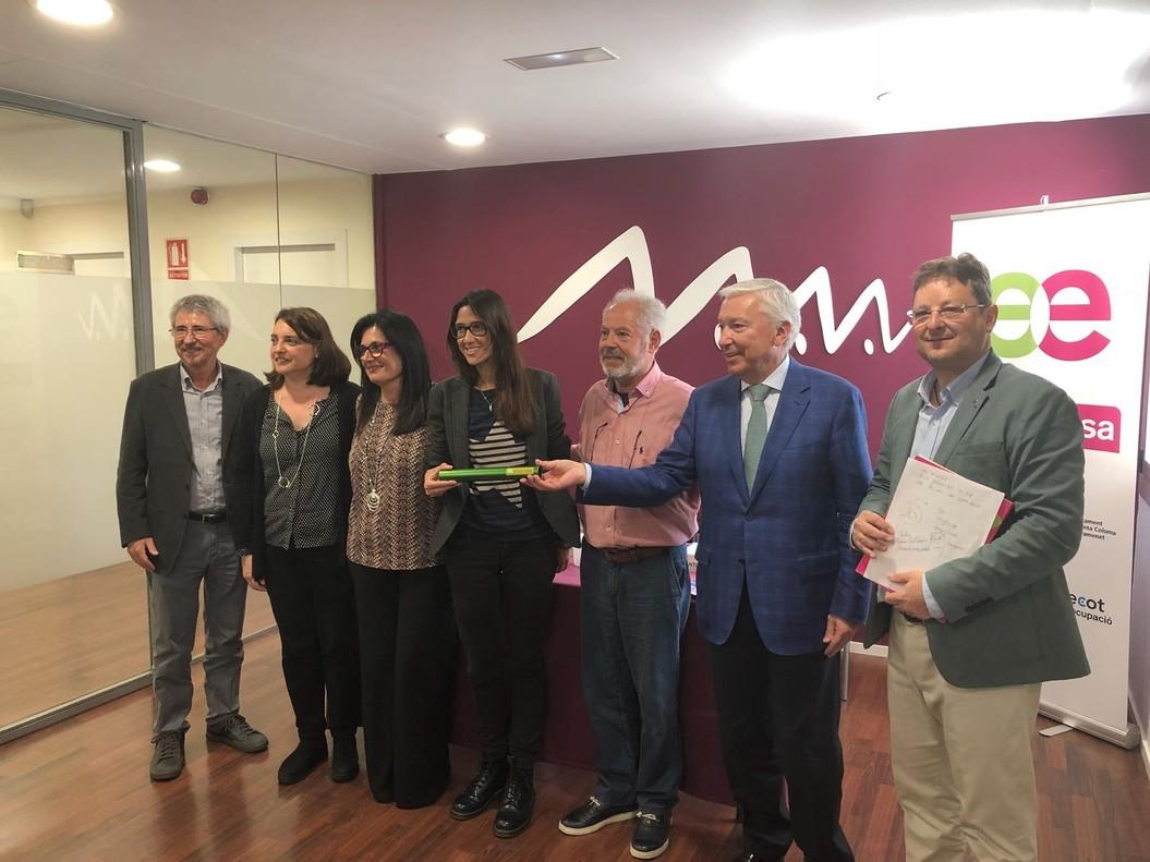 Presentación de los resultados de Reempresa en Santa Coloma.