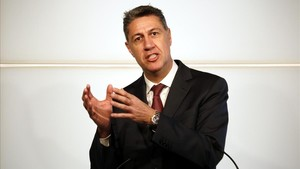 El presidente del grupo parlamentario del PPC,Xavier García Albiol